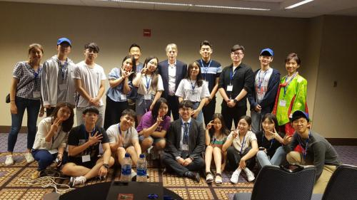 YSTLC 2019 students with Nobel Laureate Dr. Lars Peter Hansen